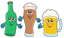collection de bière mignonne illustration stock