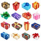 Collection de cadeaux Photographie stock