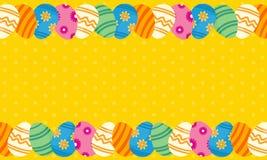 Collection de carte de voeux de thème de Pâques Photographie stock libre de droits