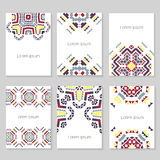 Collection de carte postale photographie stock