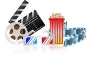 Collection de cinéma Photographie stock libre de droits
