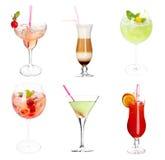 Collection de cocktail photo libre de droits