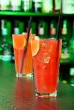 Collection de cocktails - brise marine Photo stock
