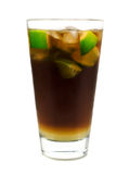 Collection de cocktails - coke de vanille Images libres de droits