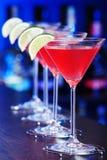 Collection de cocktails - cosmopolite Photos stock