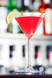 Collection de cocktails - cosmopolite Photo stock