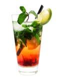 Collection de cocktails - fraise Mojito Image libre de droits