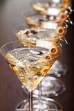Collection de cocktails - Martini Photographie stock libre de droits