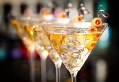 Collection de cocktails - Martini Images libres de droits