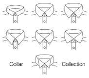 Collection de collier de vecteur photos stock