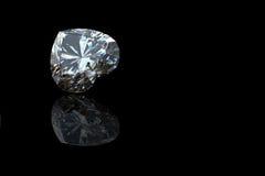 Collection de diamant.  Pierre gemme Photo stock