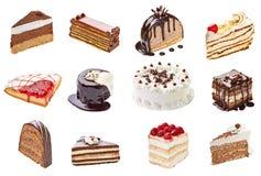 Gâteau crème photographie stock libre de droits