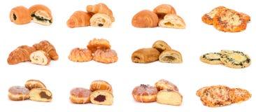 Collection de divers types de pains Photographie stock