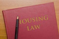 Collection de droit du logement de lois photographie stock libre de droits