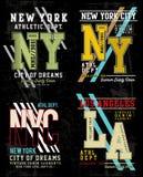 Collection 01 de fac de typographie de vecteur illustration stock