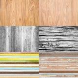 Collection de fond en bois Photos stock