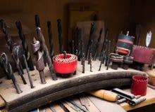 Collection de foret de travail du bois image libre de droits