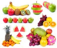Collection de fruit Images stock
