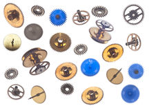 Collection de gearweels Photographie stock