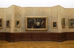 Collection de grands maîtres, académie des sciences croate et arts à Zagreb Photographie stock libre de droits