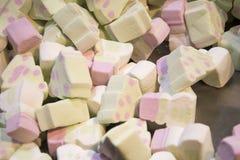 Collection de guimauves colorées Images libres de droits