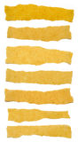 Collection de larmes de papier de texture de Brown Photos libres de droits
