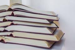 Collection de livres Photo libre de droits