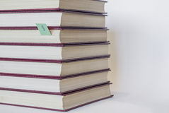 Collection de livres Photo stock