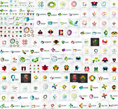 Collection de méga de logo Image libre de droits