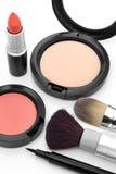 Collection de maquillage Photographie stock libre de droits
