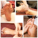 Collection de massage Photos stock
