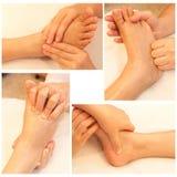 Collection de massage Image libre de droits