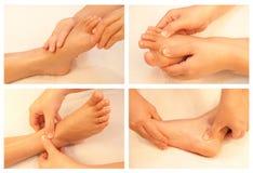 Collection de massage Photos libres de droits
