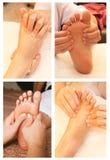 Collection de massage Images libres de droits