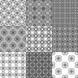 Collection de modèles sans couture de vecteur graphique illustration de vecteur
