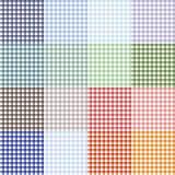 Collection de nappe Image libre de droits