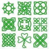 Collection de noeuds celtiques Photo libre de droits