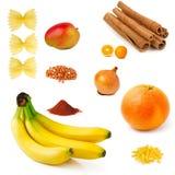 Collection de nourriture Image stock
