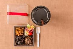 Collection de nourriture d'insecte photos libres de droits