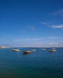 Collection de petits bateaux Photo libre de droits
