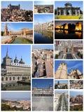Collection de photo de l'Espagne image libre de droits