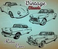 Collection de rétros voitures Image libre de droits