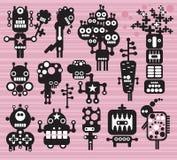 Collection #14 de robots et de monstres. Image stock