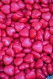 Collection de savon coloré en forme de coeur Images stock