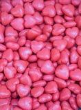 Collection de savon coloré en forme de coeur Images libres de droits