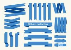 Collection de signes de ruban Photo libre de droits