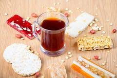 Collection de sucreries et de bonbons Mawlid Halawa de haricots images libres de droits