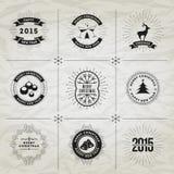 Collection de symboles de Noël illustration libre de droits