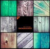 Collection de textures grunges et de milieux Image libre de droits