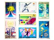 Collection de timbre Image stock